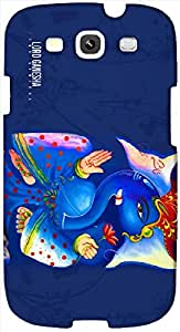 Timpax Protective Armour Case Cover. Multicolour Printed Design : Ganesh God 1600x900.Exclusively Design For : Samsung I9300 Galaxy S III ( S3 )