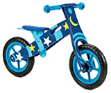 Nicko pour Enfant – Draisienne en Bois – Vélo de Course – First Bike – Training Bike (Space Star 859)