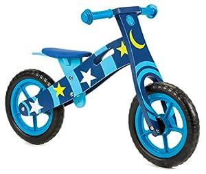 Nicko - Bicicleta de Equilibrio Infantil de Madera, para Correr o Montar en Bicicleta, diseño de Bicicleta de Primera