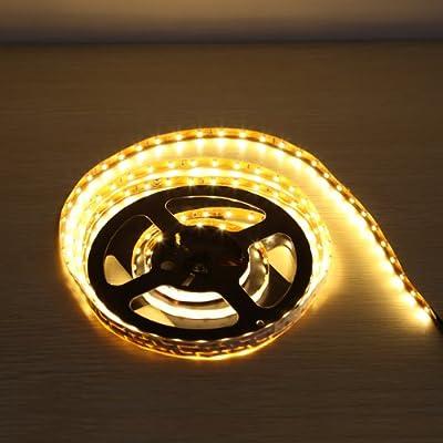 LE Flexibler LED-Streifen, warmweiß, 150 Einheiten 3528 LEDs, 2,5M in jeder Packung, DIY-Beleuchtung, Deko-beleuchtung, nicht wasserdicht, LED Lichtschlauch von Lighting EVER bei Lampenhans.de