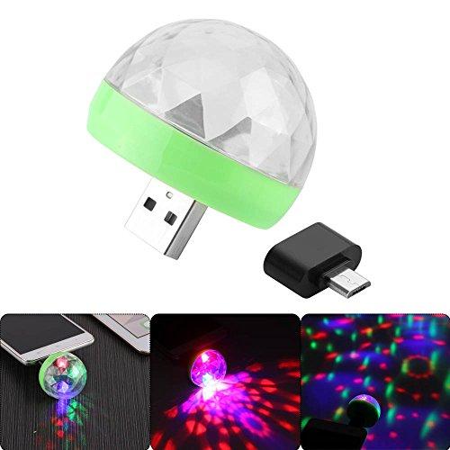 Especificación:   Tipo: Luz LED  Material: ABS  Color claro: RGB  Modo: Modo de movimiento automático / Sonido activo / Flash  Vida útil: 5000 H  Ángulo de haz: 120 grados  Rango de flash: 5-10m / 16.4-32.8ft  Potencia total: 4W  Voltaje de funciona...