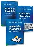 Image de Handbuch der Klimatechnik (Set): Set bestehend aus: Band 1: Grundlagen, Band 2: Anwendunge