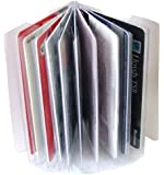 Replacement Credit Card Purse / Wallet Insert Sleeves for Cards (Portrait for 10 Cards)