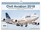 Calendrier 2019 : Civil Aviation 2019 - Le calendrier pour les vrais amateurs d'avions. Avec des photos fascinantes Airbus, Boeing, Embraer, Bombardier. Format A3 grand format...