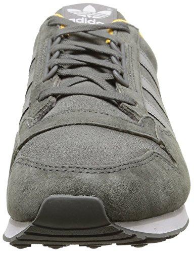 adidas Originals Zx 500, Baskets Basses Femme Gris - Grau (Ash/Mgh Solid Grey/Solar Gold)