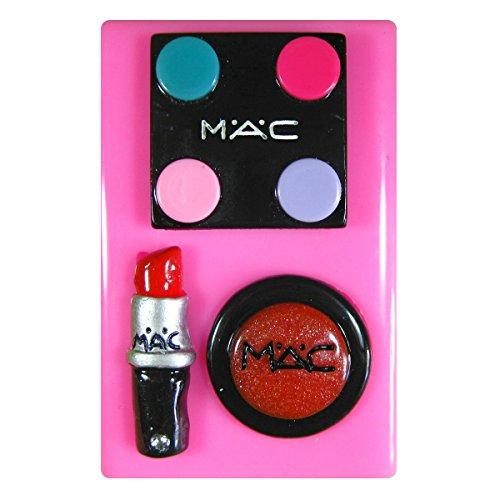 Entwerfer bilden Augenschminke Lippenstift Lipgloss SilikonForm für Kuchen Dekorieren, Kuchen,...