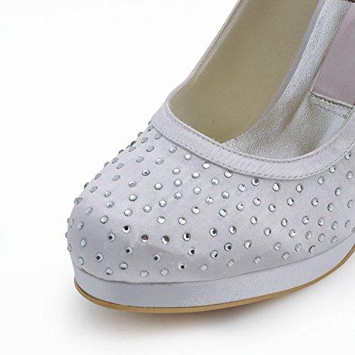 Kevin Fashion , Chaussure de mariée fashion femme Blanc Cassé - Blanco - blanco