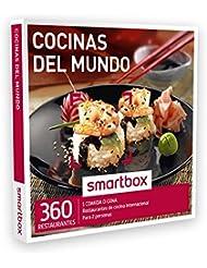 SMARTBOX - Caja Regalo - COCINAS DEL MUNDO - 360 restaurantes de cocina internacional: italiana, mexicana, japonesa, asiática…
