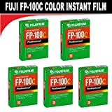 Fujifilm Fuji fp-100C Instant Farbe 10Belichtung–5Pack