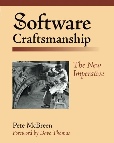 Software Craftsmanship:The New Imperative