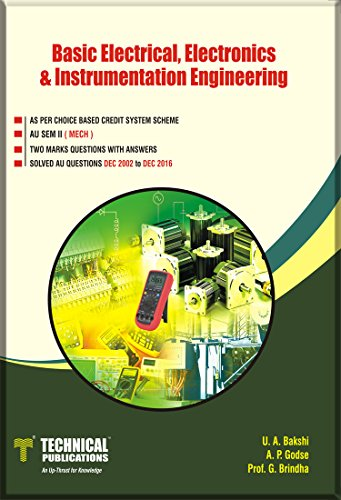 Basic Electrical, Electronics and Instrumentation Engineering for (SEM-II MECH COURSE-2017)