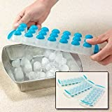 #10: LUKZER 21 Slots Pop-Up Ice-cube tray (1 PC) (Random Color)