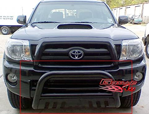 APS BB-TAK023B Black Bull Bar Bolt Over for select Toyota Tacoma Models by APS