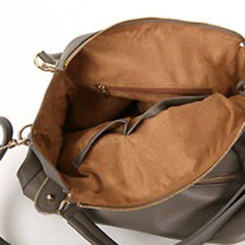 Violett-CHARLOTTE Shoulder Bag WINE