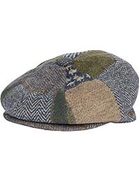 Sakkas Vintage Style Wool Blend newsboy Snap Brim Cap