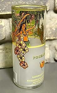 Vodka Van Gogh ananas Gobelet Verre à bière 500 ml Par Glassa Upcycled