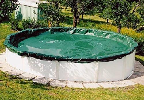 Steinbach Bâche d'hiver pour bac Rond 500 x 500 x 0.1 cm Vert
