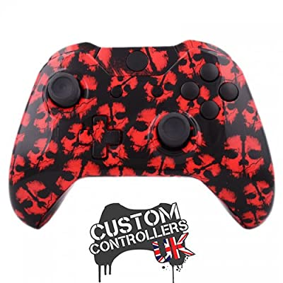 Xbox One Custom Controller - Call of Duty Ghosts Red