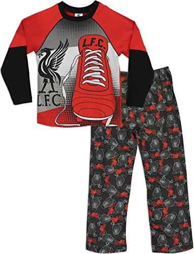 Liverpool F.C. Liverpool Boys Liverpool FC Pyjamas Liverpool Football Club Age 8 to 9 Years