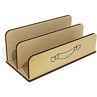 Azeeda 'Heart Banner' Wooden Letter Rack/Holder (LH00034085)