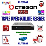 VCM OCTAGON SF3038 E2 HD Triple 2x 1.3GHz Dual Core