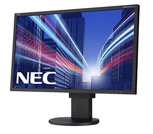 NEC Multisync EA273WMi 27 inch IPS LCD Monitor Black 10001 250 cd m2 1920 x 1080 6ms VGA DVI DP HDMI Monitors