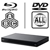Sony UBP-X800 UHD Blu-ray Player, Multiregion Blu-ray & DVD Code-freier Blu-ray Player für Alle-Zonen-Wiedergabe.