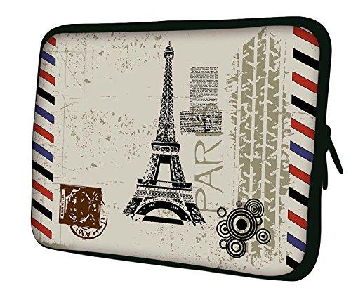 Luxburg Notebooktasche Laptoptasche Tasche aus Neopren Schutzhülle Sleeve für Laptop/Notebook Computer Tablet 17,3 Zoll