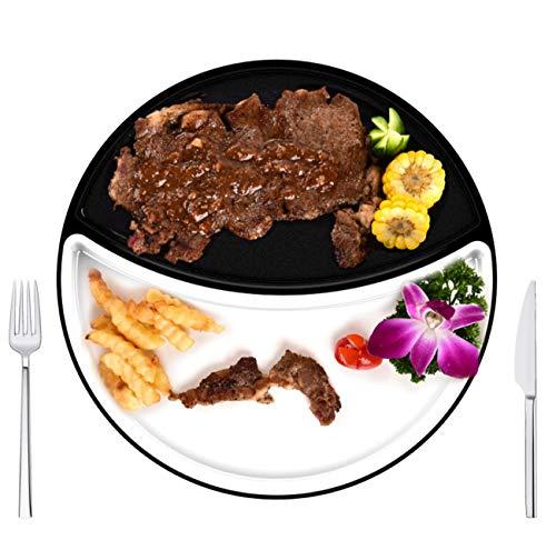 NANXCYR BBQ PotSmokeless antihaftbacken Pfanne Schlafsack Steak Schale grillmaschine Top Round Steak