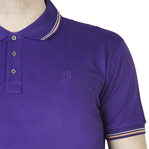 Trussardi 2AT49 Polo Herren VIOLA