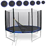 Physionics Gartentrampolin Set Kindertrampolin Set in sieben Größen Intertek GS