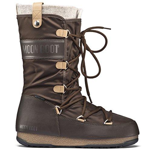 Moon Boot W.E. Monaco Felt, Bottes d'hiver femme gris (grigio)