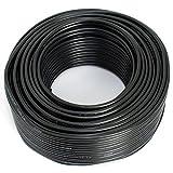 Lautsprecherkabel 2x2,50mm2 - 25m - schwarz - CCA - Audiokabel - Boxenkabel