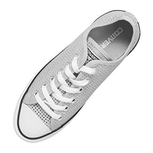 Converse Chuck Taylor All Star C551623, Baskets Basses Femme mouse white
