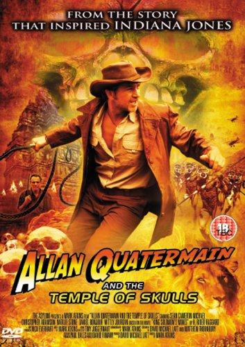Allan Quatermain And The Temple Of Skulls [2008] [DVD] [UK Import]