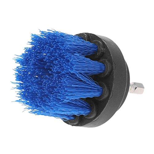 Wingbind trapano, spazzola per giallo rosso blu di perforazione, efficiente Cleaner spazzoloni per casa, bagno, intonaco, vasca da bagno, doccia, cucina, gomme, barca 1PCS, plastica, Blue Brush a, 2'