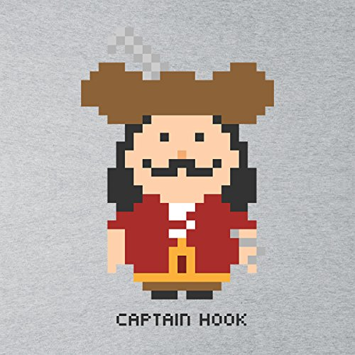 Captain Hook Pixel Character Women's Vest Heather Grey