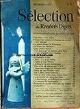 selection du reader s digest du 31 12 1950 pere noel pole nord pensez vous comme un homme ou comme une femme le grand deluge de winnipeg en avion les bestiaux quels jouets choisir c est fou ce qu un homme peut faire ce que m apprit jose l indien tours