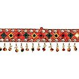 #9: Jaipuri haat Cotton Made Door Toran Bandarwal for Home Décor