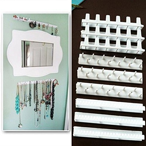 9 in 1 hooks for hanging on the wall, jewelry organizer, necklace, hanger, store accessories