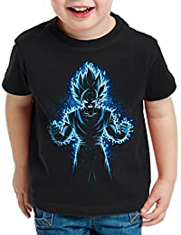 style3 Songoku Max Power T-Shirt pour enfants turtle ball z roshi dragon