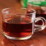 Pinkcity Emporium Tableware Serving Glass Tea Cups Mugs Set Of 6 Pcs