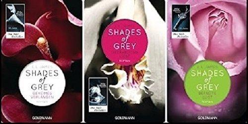Shades of Grey, Band 1: Geheimes Verlangen / Band 2: Gefährliche Liebe / Band 3: Befreite Lust
