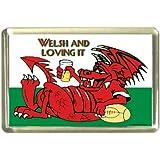 Welsh and Loving it Fridge Magnet