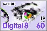 TDK D 8-60 EB Digital8-Kassette -