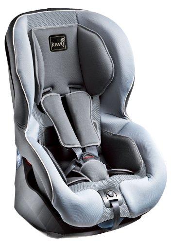 Kiwy SP1 13011KW04B - Seggiolino auto per bambini, gruppo 1, 9/18 kg, con sistema di sicurezza SA-ATS, certificato ECE R44/04, colore: Grigio pietra