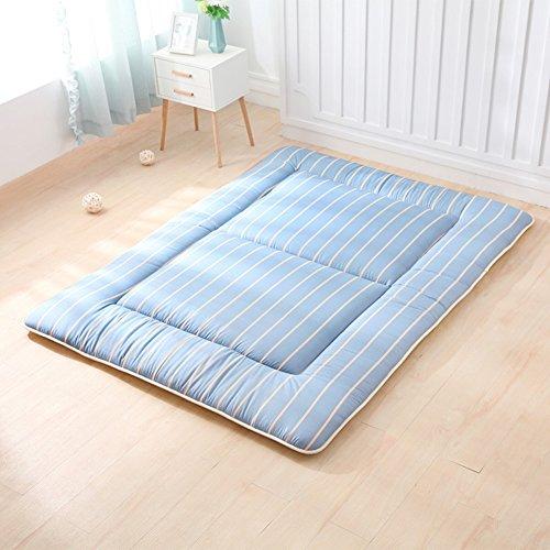 Japanischen futon-matratze, Tatami tatamimatte Schlafen pad Traditionelle japanische Weich Folding Waschbar Dick Königin Bett matratzenauflage-C 120x200cm(47x79inch)