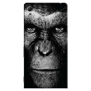 ColourCrust Sony Xperia Z4 Mobile Phone Back Cover With Gorilla - Durable Matte Finish Hard Plastic Slim Case