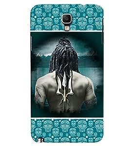 Fuson Panda Face Case Cover for Samsung Galaxy Note3 Neo