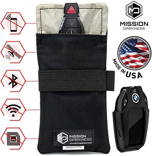 Mission darkness borse di faraday per la schermatura dei telecomandi - 5a generazione per le forze dell'ordine e le forze militari